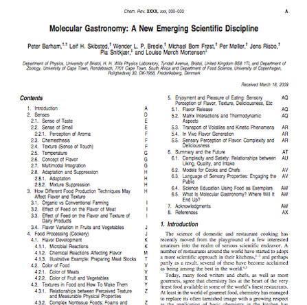 Molecular gastronomy. Emerging scientific discipline