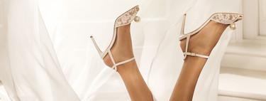La colección de zapatos de novia de Jimmy Choo es así de espectacular y además se pueden personalizar