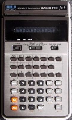 Casio PRO FX-1: especial ordenadores desconocidos