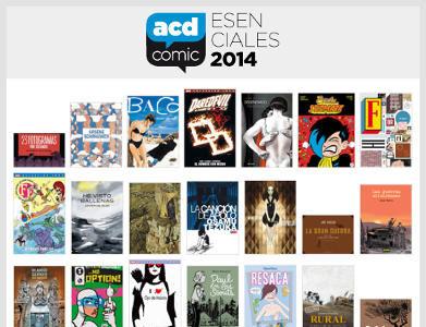 La ACDCómic presenta sus cómics esenciales del primer semestre de 2014
