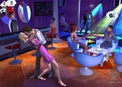 Los Sims salen de fiesta por la noche