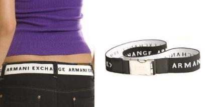 Cinturones Armani Exchange