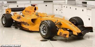 McLaren homenajea a Bruce