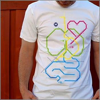 Camiseta Human Map
