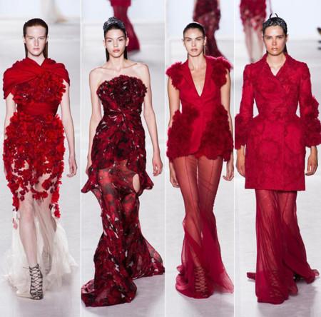 Rojo Giambattista Valli Alta Costura Invierno 2013