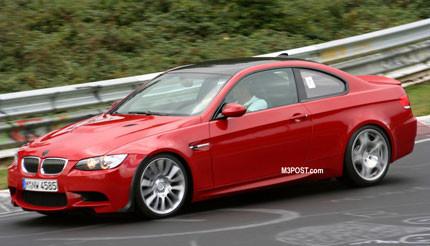 ¿Un BMW M3 CSL de pruebas en el Ring?