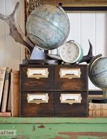 Hazlo tú mismo: un organizador de escritorio de estilo vintage