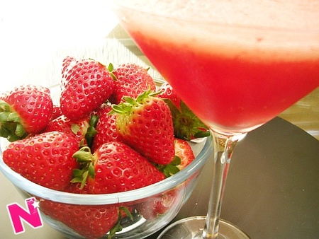 Strawberry daiquirí
