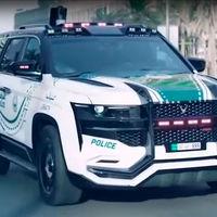Giath es el nuevo y gigantesco juguete de la policía de Dubái