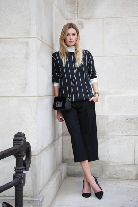 Aa Street Style Culottes Blogger Camille Charriere