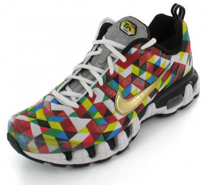 Nike Tuned Air 10, pasión por el trixel