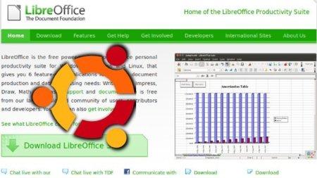 LibreOffice ya forma parte de Ubuntu 11.04