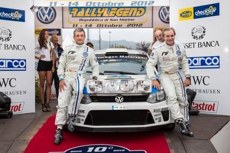 Carlos Sainz pilotó el Polo R WRC en el Rally Legend