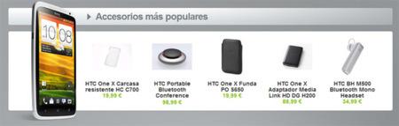 Los primeros accesorios oficiales de la gama HTC One ya se muestran en su tienda con precios incluidos
