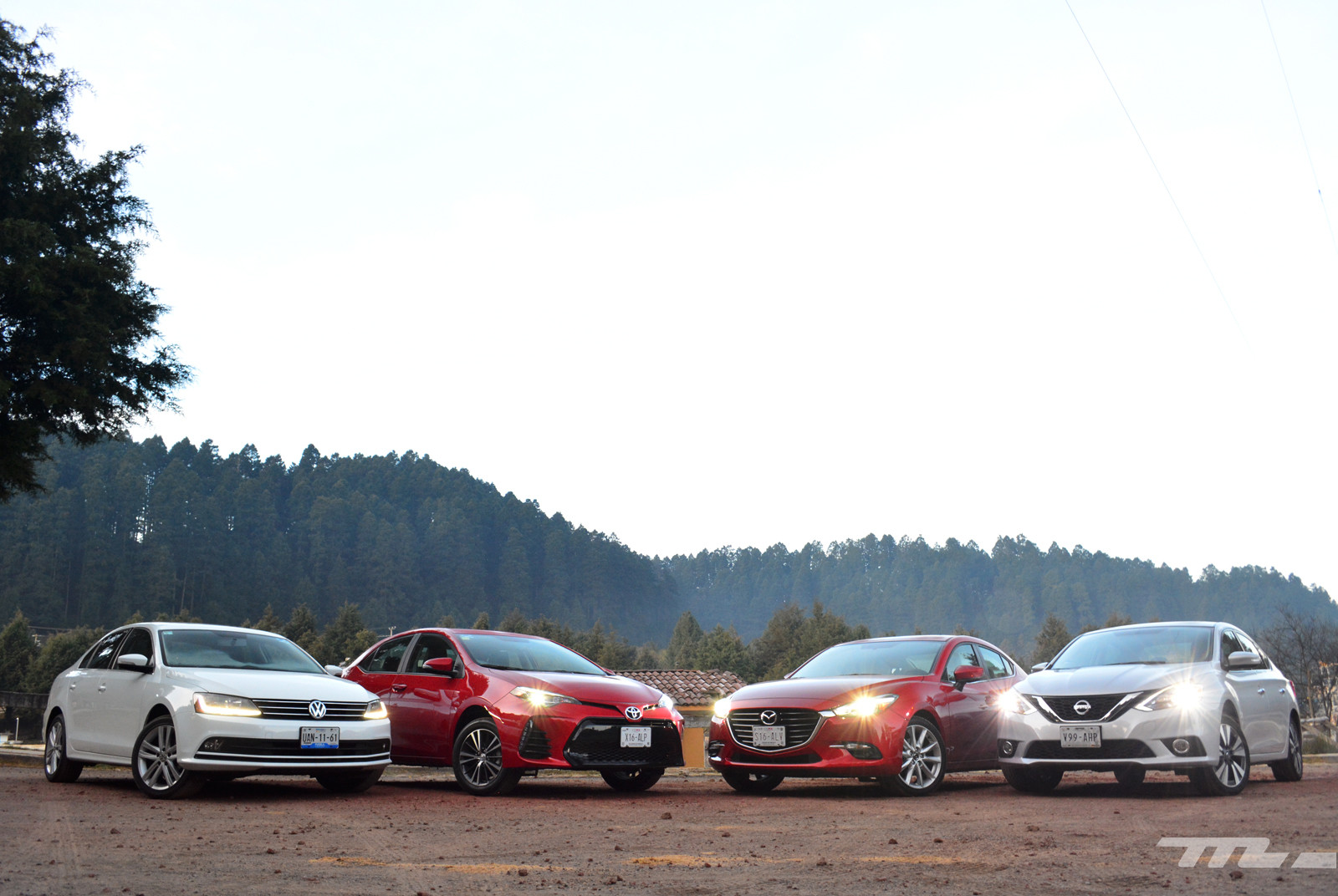Foto de Comparativa: Mazda3 vs. Nissan Sentra vs. Toyota Corolla vs. Volkswagen Jetta (1/60)