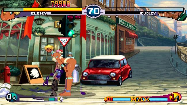 Este es el baile de un videoclip de los 80 que acabó siendo una animación en Street Fighter III