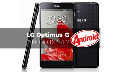 LG Optimus G se actualiza oficialmente a Kit Kat