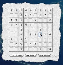 SudokuFun: Widget para jugar al Sudoku