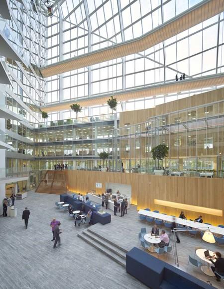 The Edge Amsterdam interior