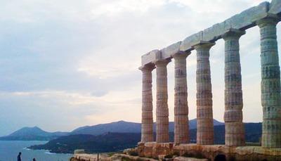 El Templo de Poseidón, en Sunio (Grecia)