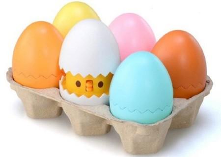 La adivinanza decorativa del viernes: huevos