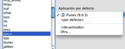 Evita que iTunes aparezca al pulsar cualquier enlace de iTunes Preview