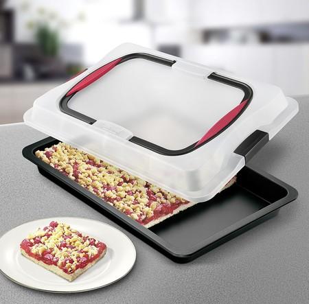 Puedes llevar comida a cualquier fiesta o quedada cómodamente con la rustidera Zenker Bake&Go: cuesta 20,18 euros en Amazon