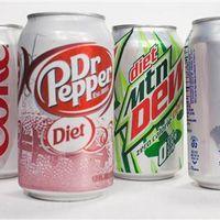 Las bebidas sin azúcar (pero con edulcorante) te hacen ganar peso