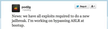 @pod2g afirma tener todos los exploits para un nuevo Jailbreak en iOS 5.1