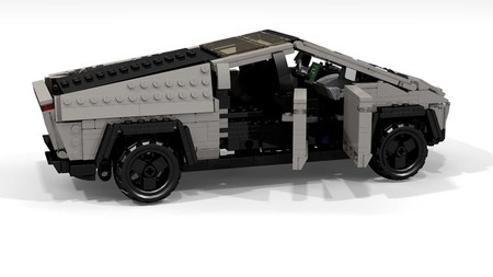 Tesla Cybertruck Lego By Peter Blackert 6