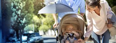 Los bebés son muy vulnerables a la contaminación, y aún más si van en sillita