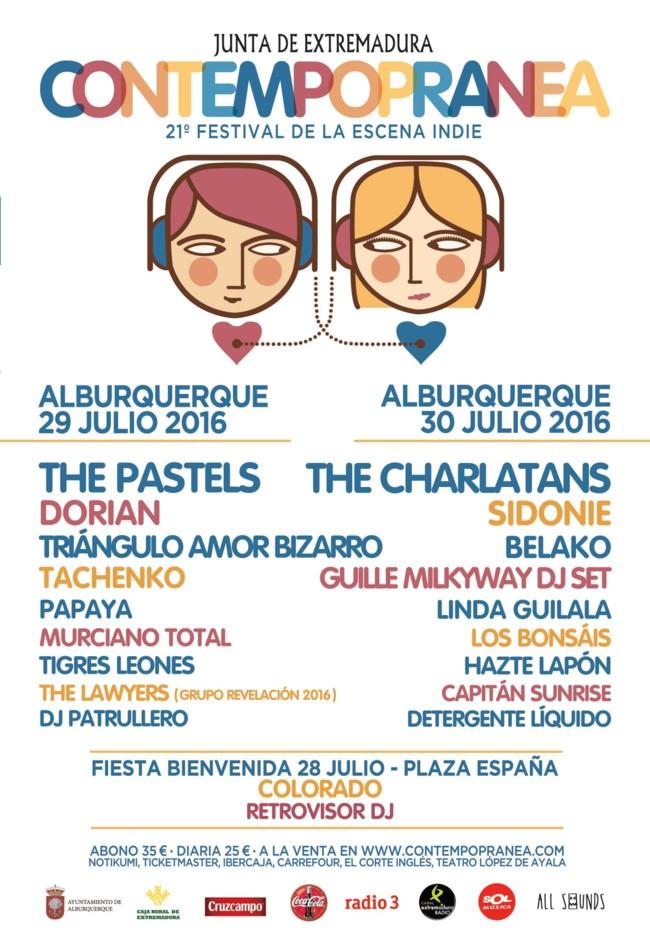 """Contempopránea, el festival """"indie"""" que se celebra al lado de un castillo"""