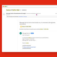 Si recibes notificaciones raras de Google Drive ten cuidado al abrir documentos compartidos, es una nueva estafa de phishing
