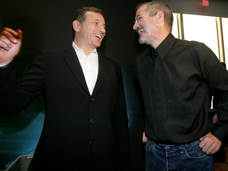Steve Jobs y Bob Iger
