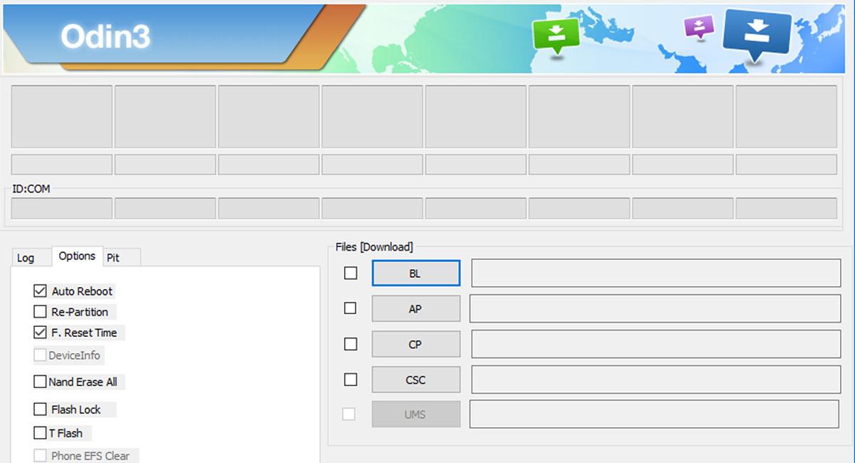 Cómo actualizar el firmware oficial de Samsung con ODIN