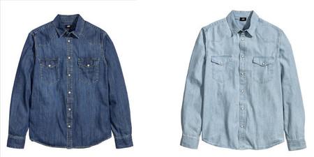 H&M camisa vaquera primavera 2014