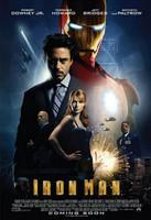 Póster definitivo internacional de 'Iron Man'