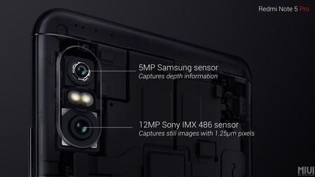 Xiaomi Redmi Note 5 Pro Camara Dual