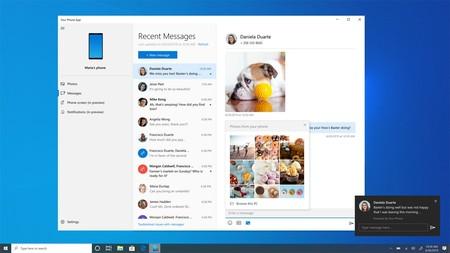 La nueva versión de 'Tu teléfono' en Windows 10 permite ver notificaciones de Android [Actualizado]