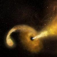 Ya sabemos qué pinta tiene un agujero negro tragándose una estrella