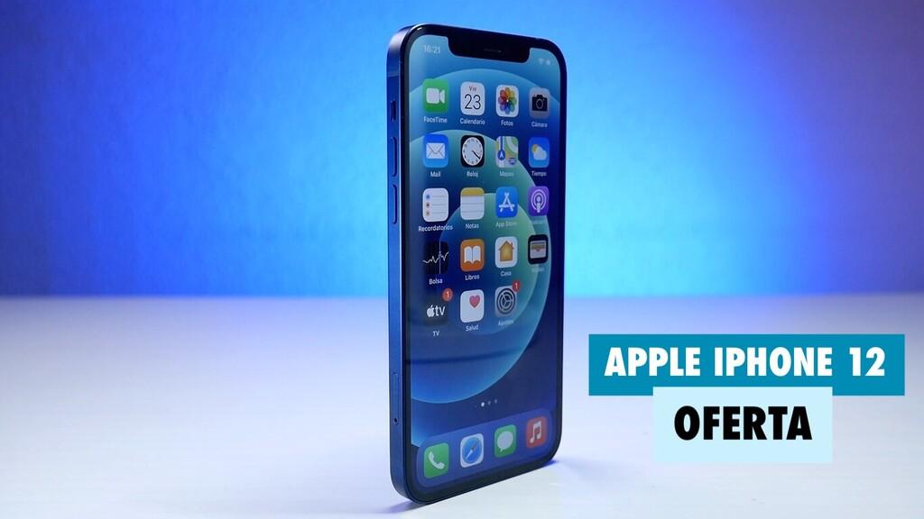 El nuevo iPhone 12 de Apple acaba de salir y hoy ya lo tenemos con más de 60 euros de descuento