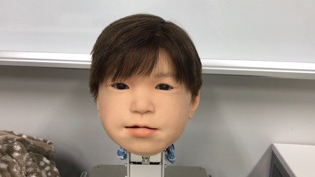 Affetto Child Robot