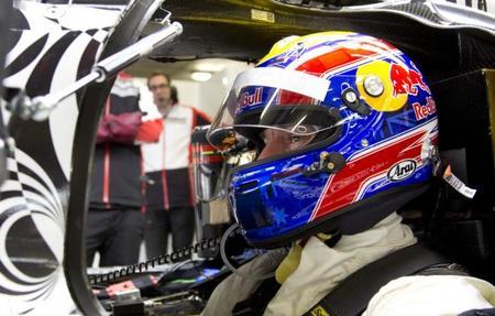 Mark Webber se estrena en el último test de Porsche de 2013