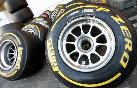 Siete juegos de neumáticos para probar los nuevos Pirelli