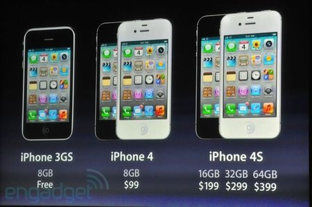 iPhone 4S, nos quedamos con las ganas del iPhone 5