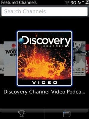 BlackBerry Podcasts, nuevo directorio de programas de audio y vídeo