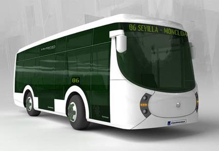 Castrosua Tempus, autobús híbrido español