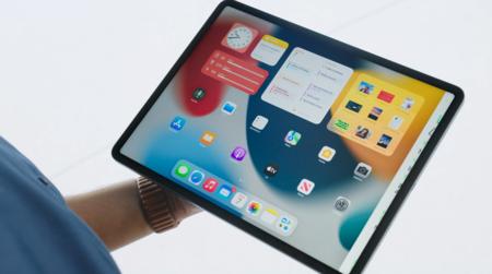 Mayores widgets en iPadOS 15