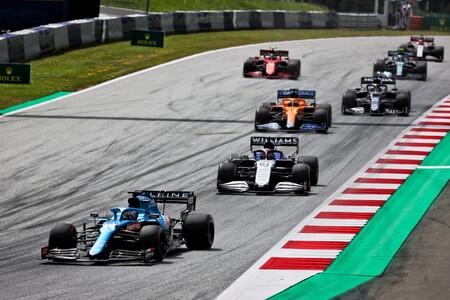 Alonso Estiria F1 2021