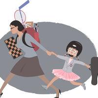 Las madres se sienten menos felices (y más estresadas) que los padres con respecto al cuidado de los hijos